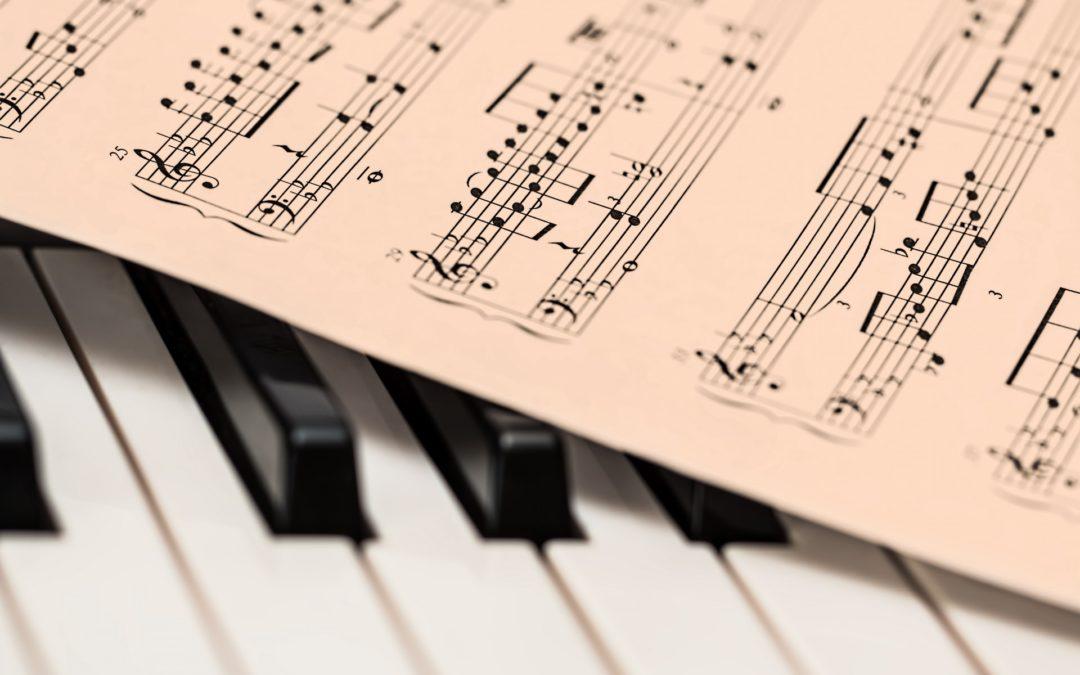 Her finner du bra pianonoter på internett – del 1